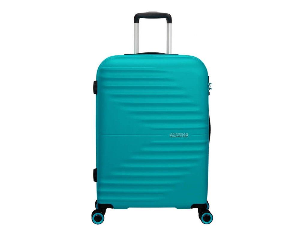 Cestovní kufr American Tourister WAVETWISTER Modrý