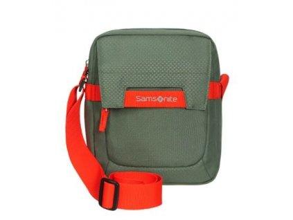SAMSONITE Taška přes rameno Sonora Crossover zeleno-oranžová