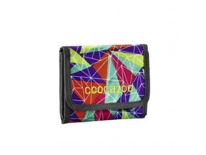 CooCaZoo vícebarevná textilní peněženka