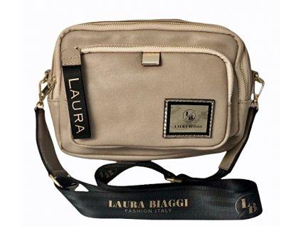 Laura Biaggi crossbody taupe