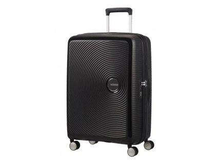 Cestovní kufr American Tourister SOUNDBOX SPINNER 67/24 TSA EXP BASS černý