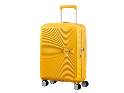 Kabinový kufr American Tourister SOUNDBOX SPIN.55/20 žlutý