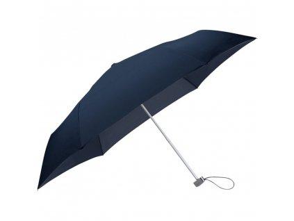 Samsonite skládací manuální deštník RAIN PRO modrý