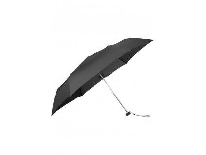 Samsonite skládací manuální deštník s pouzdrem RAIN PRO černý