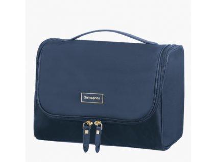 Samsonite kosmetický kufřík na pověšení Karissa Cosmetic modrý