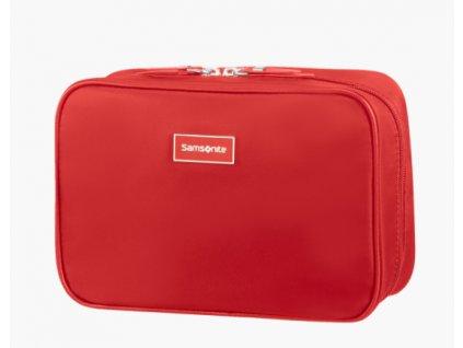 Samsonite toaletní etue Karissa Cosmetic červená