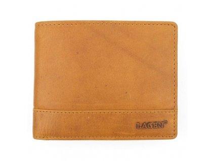 Lagen pánská peněženka koňak