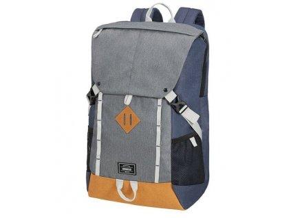 American Tourister batoh na notebook -šedo modrý