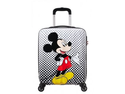 Kabinový kufr American Tourister DISNEY LEGENDS 55/20 Mickey Mouse Polka Dot