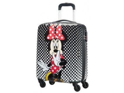 Kabinový kufřík American Tourister DISNEY LEGENDS 55/20  Minnie Mouse Polka Dot