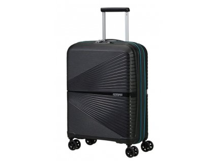 American Tourister Kabinový cestovní kufr Airconic Neon BLUE 33,5 l černý