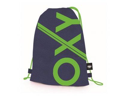 studentsky vak na zada oxy neon green