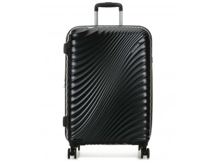 american tourister jetglam spinner 4 wheels metallic black 67 cm 122817 2368 31