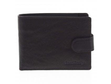 Sendi Design pánská kožená peněženka Black