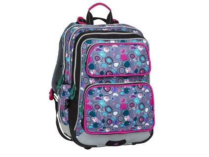 Bagmaster školní batoh pro prvňáčky - puntíky