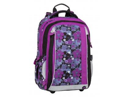 Bagmaster  květinový školní batoh