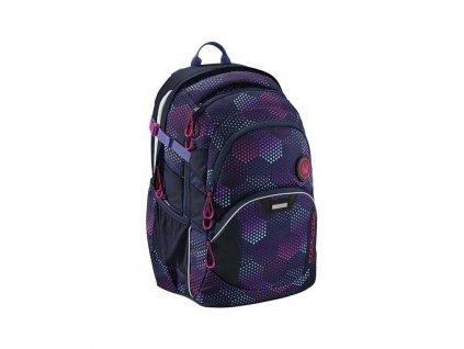 Coocazoo školní batoh pro holky fialový