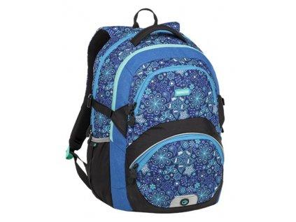 Bagmaster školní batoh pro holky modrý