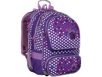 Topgal školní batoh pro holky beruška