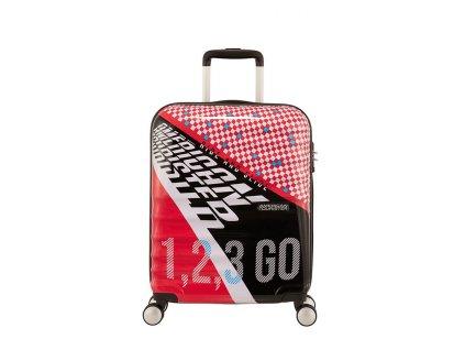 American Tourister cestovní kufr WAVEBREAKER  55/20 Retro Racer