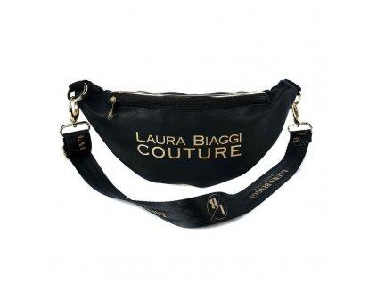 Laura Biaggi ledvinka černo zlatá
