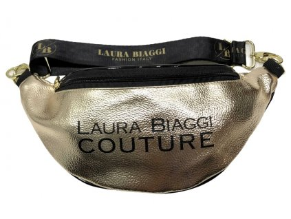 Laura Biaggi ledvinka zlatá lesklá