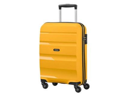 Střední kufr American Tourister BON AIR SPIN.66/25 - žlutý