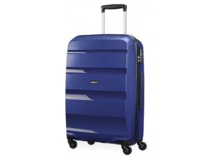 Střední kufr American Tourister BON AIR SPIN.66/25 - modrý