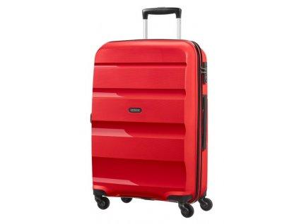Střední kufr American Tourister BON AIR SPIN.66/25 - červený