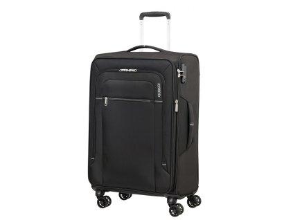 Střední kufr American Tourister CROSSTRACK černá- šedá