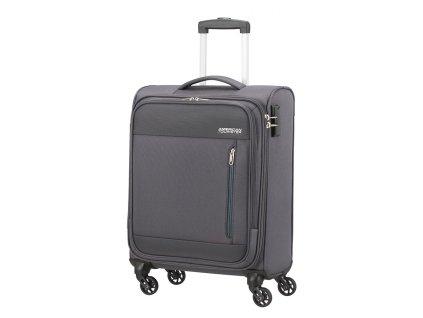 Příruční kufr American Tourister HEAT WAVE šedý