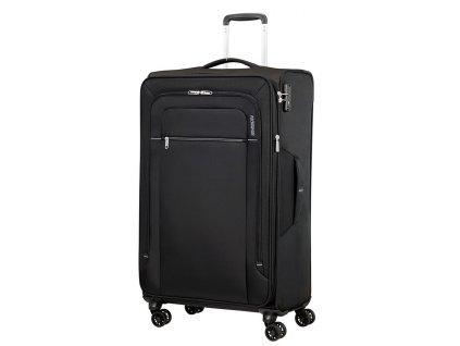 Velký kufr American Tourister CROSSTRACK černá- šedá