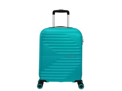 Příruční kufr American Tourister WAVETWISTER  Modrý