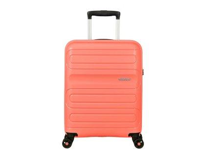 Příruční kufr American Tourister SUNSIDE  Meruňková