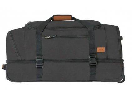 American Tourister ALLTRAIL látková cestovní taška na kolečkách L - černá
