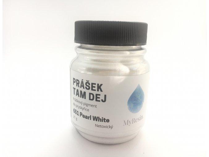 Prášek Tam Dej Pearl White MyResin