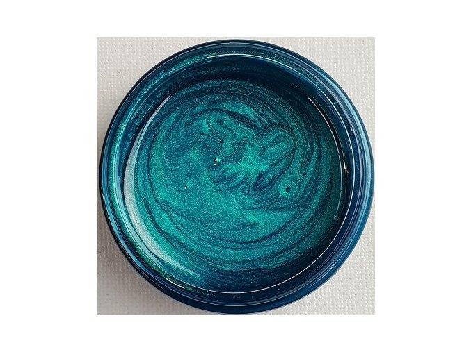 Lesklá pigmentová pasta Turquoise