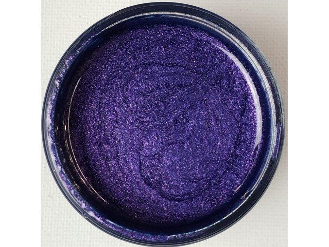 Lesklá pigmentová pasta Violet Blue