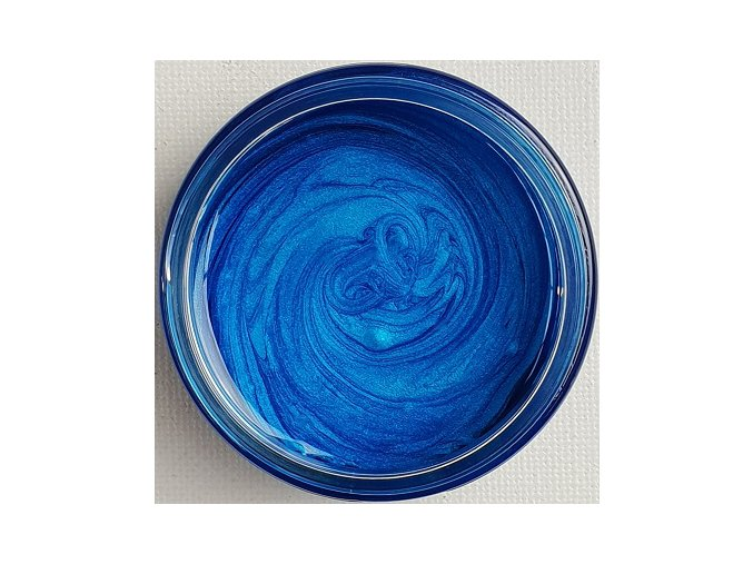 Lesklá pigmentová pasta Blue Sapphire
