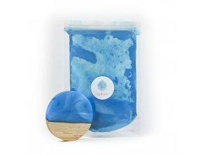 Metalický pigment do pryskyřice Modrá Je Dobrá MyResin