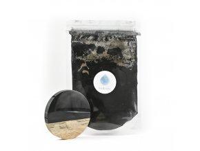 Metalický pigment do pryskyřice Černá Tma MyResin