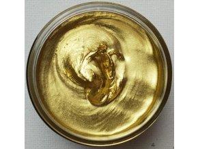 Kovová pigmentová pasta Bright Gold