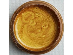 Lesklá pigmentová pasta Gold