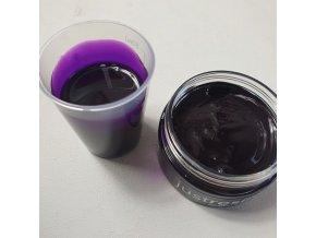 Průhledná pigmentová pasta Violet Plum