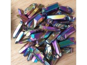 Rainbow křišťál hroty