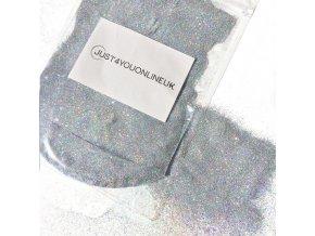 Holografická Stříbrná Glitry 50 g