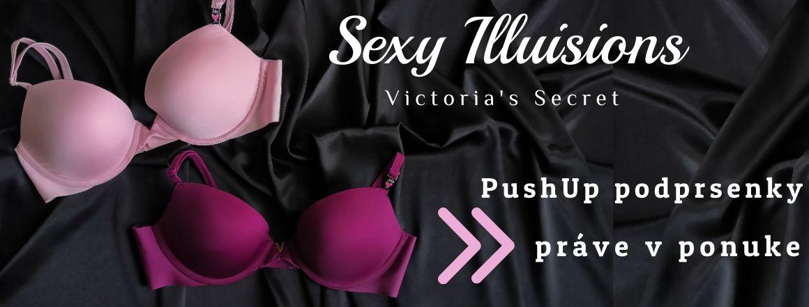 Podprsenky Victoria's Secret Sexy Illusions práve v predaji