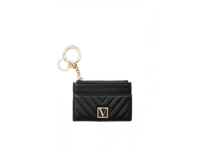 malá peňaženka victoria's secret  v čiernej farbe