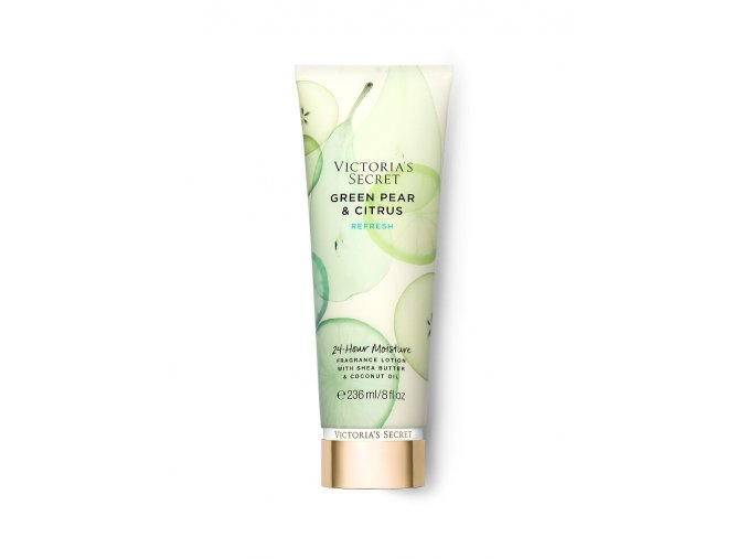 parfumované telové mlieko victoria's secret natural green pear