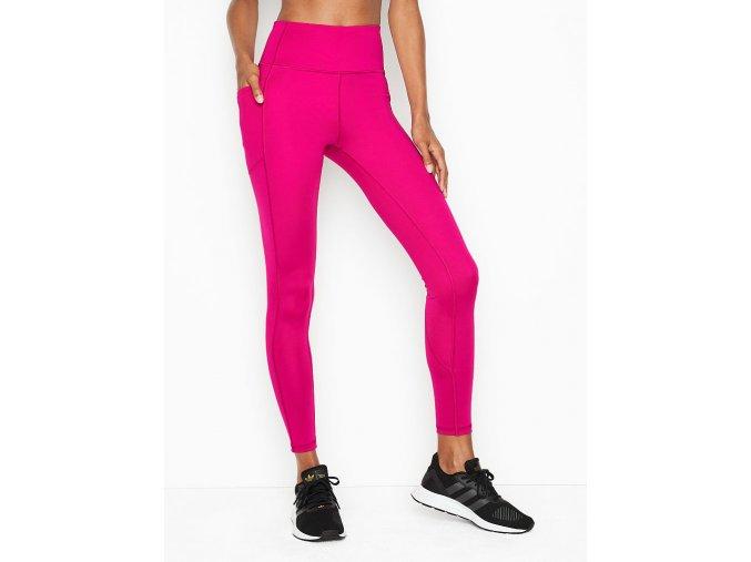najjemnejšie športové fitness legíny victoria's secret v ružovej farbe
